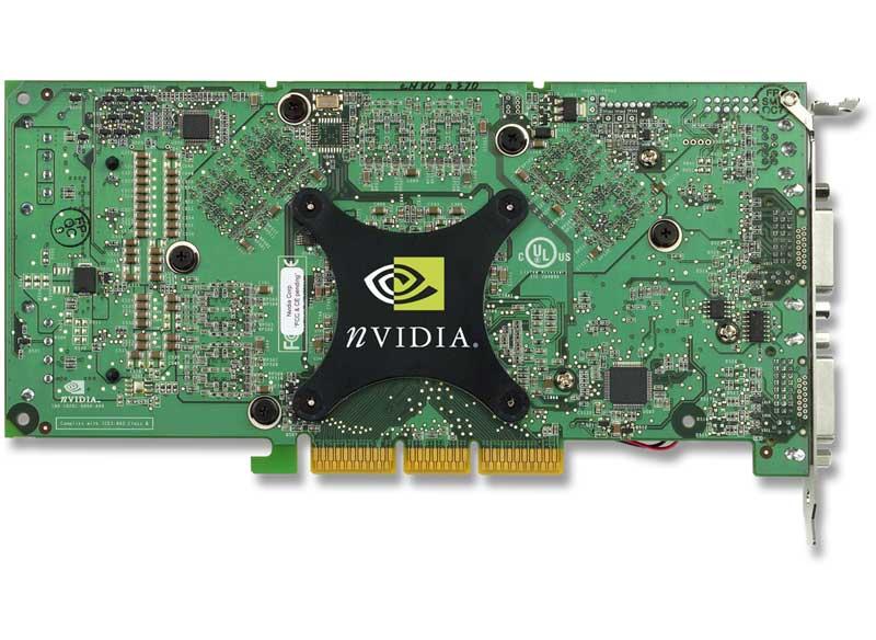 GeForce 6800 Ultra Rückseite