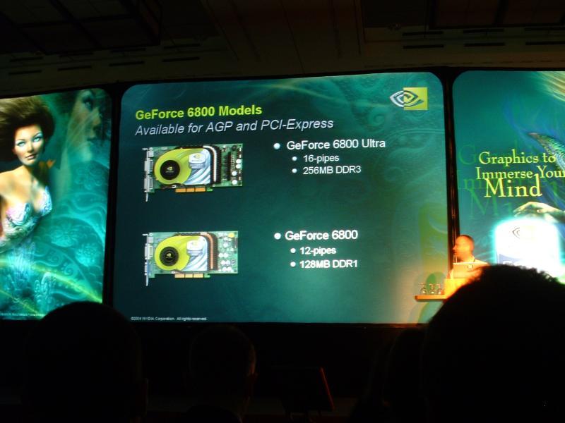 Unterschiede von GeForce 6800 und 6800 Ultra