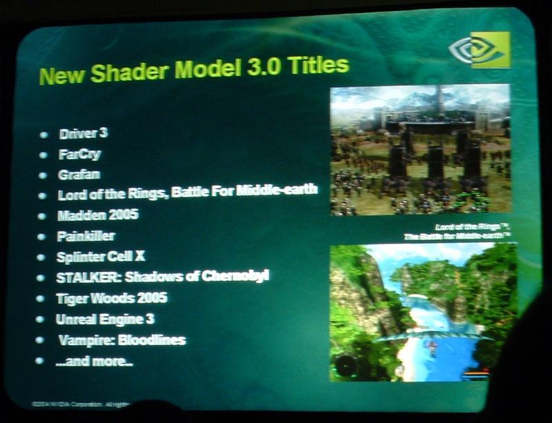 Shader Model 3 Spiele