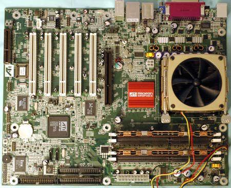 ATI Radeon 9100 PRO IGP Referenz-Mainboard