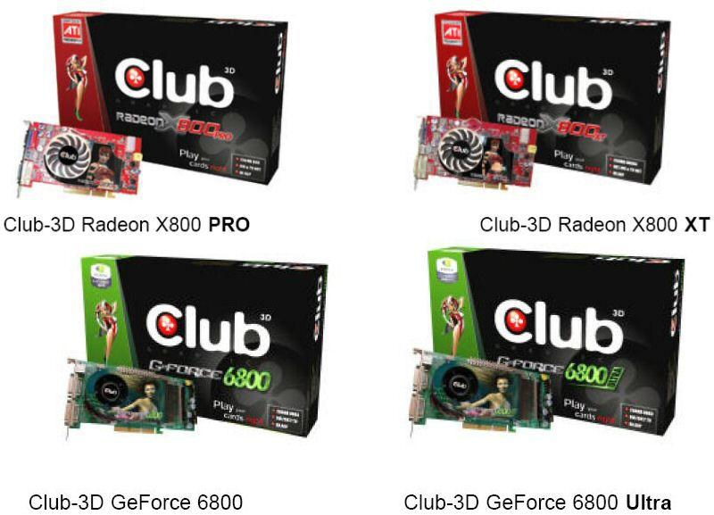 Neue Club-3D High-End Grafikkarten