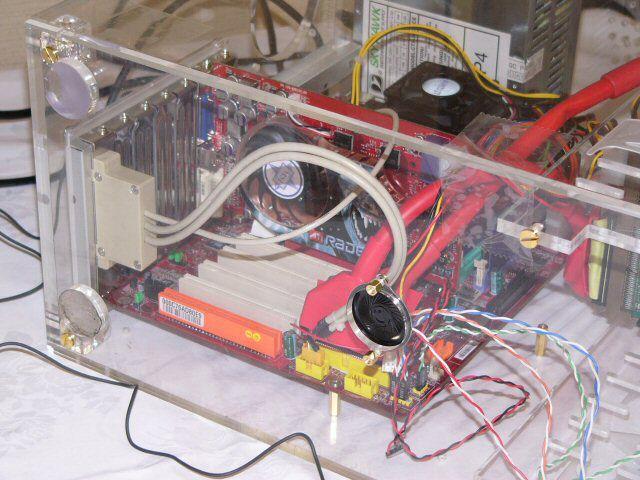 MSI Radeon X800 Pro im Einsatz