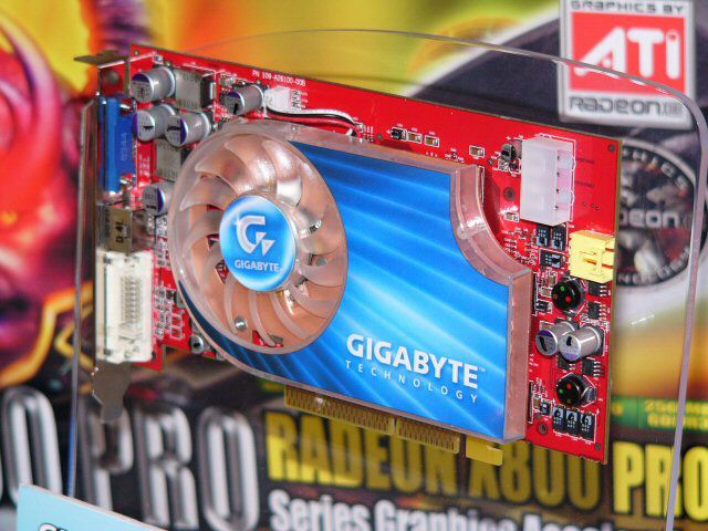 Gigabyte Radeon X800 Pro