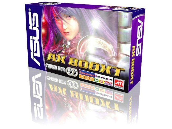 ASUS AX800 XT Box