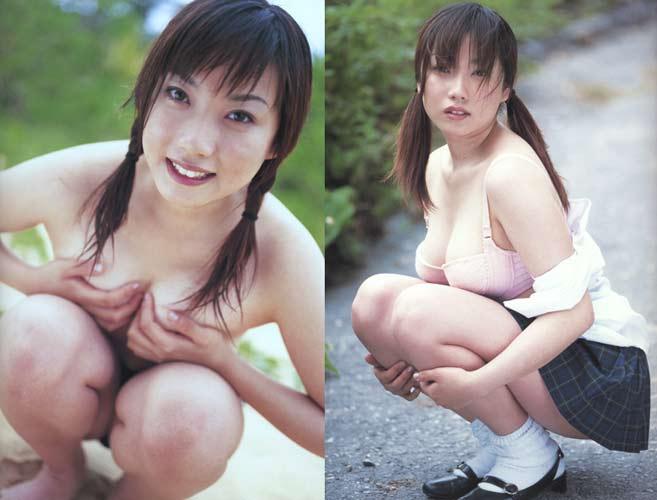 In Japan ist Eri Kitajima ein gefeierter Pornostar