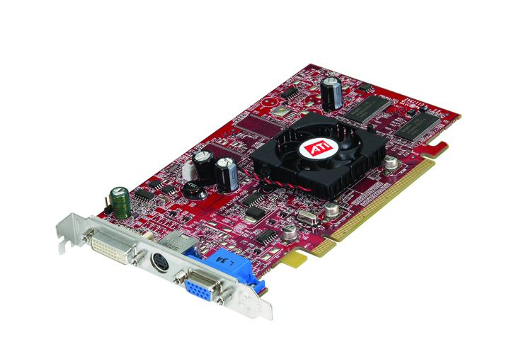 ATI Radeon X300 (RV370) Referenzkarte