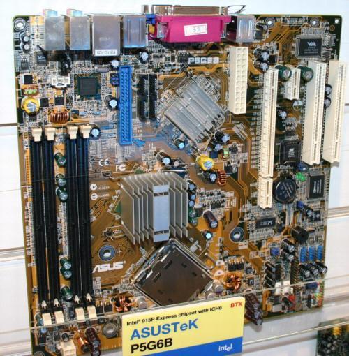ASUS P5G6B Micro-BTX Mainboard