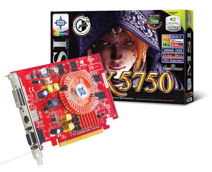 MSI PCX5750-TD128