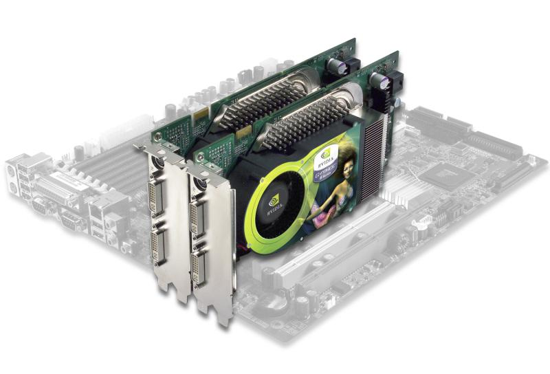 GeForce 6800 SLI onboard