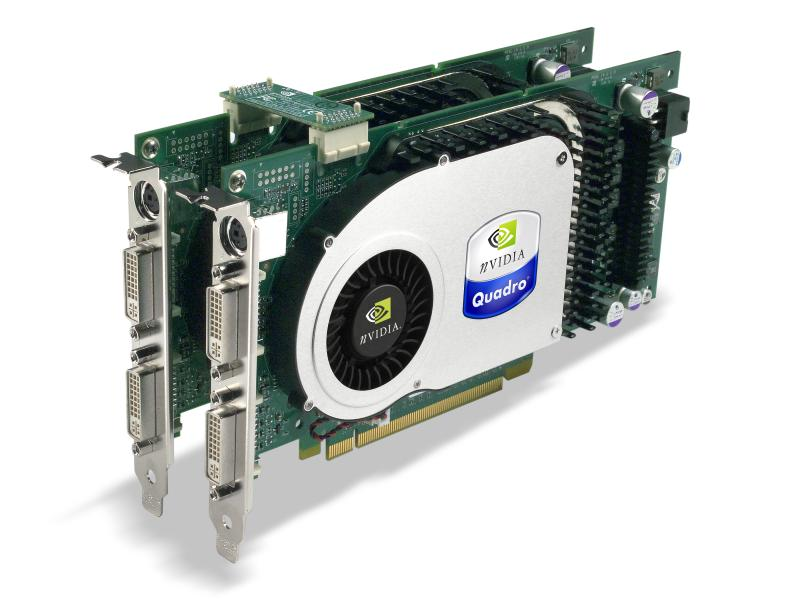nVidia SLI mit Quadro Workstation-Grafikkarten