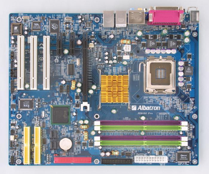 Albatron PX915G Pro (i915G Grantsdale)