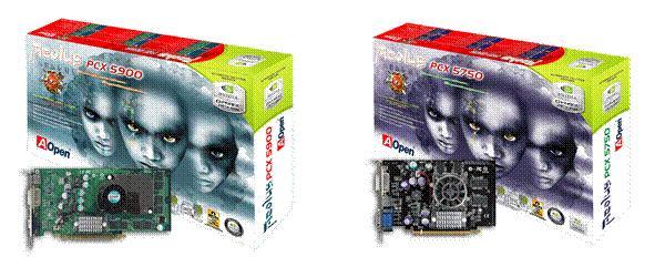 AOpen Aeolus PCX 5900 und PCX 5750