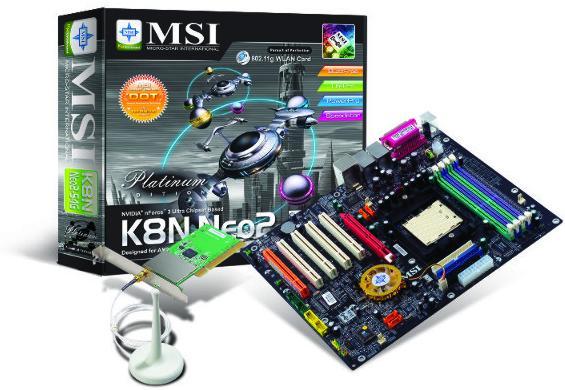 Das MSI K8N Neo2 Platinum