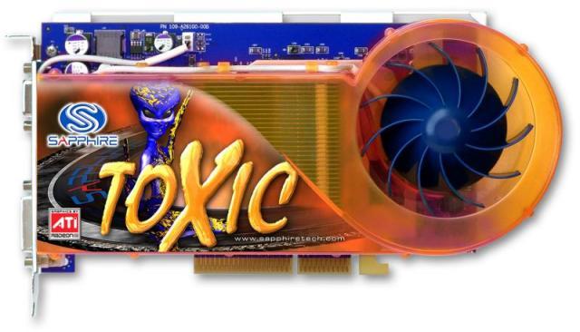 Sapphire Radeon Toxic X800 Pro VIVO 256MB