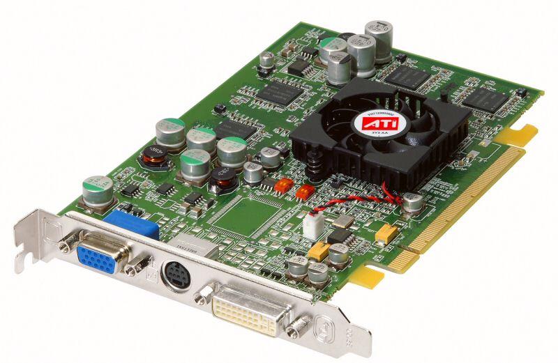 ATI Radeon X600 Grafikkarte