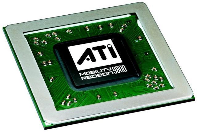 ATI Mobility Radeon 9800 Grafikchip