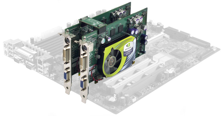 Zwei GeForce 6600 GT im SLI Betrieb