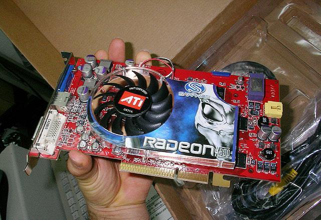 Sapphire Radeon X800 XT - Äußerlich wie erwartet ohne große Unterschiede