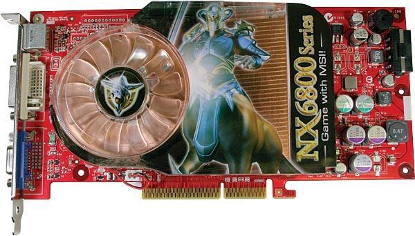 MSI NX6800LE-TD128 (GeForce 6800 LE)