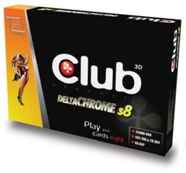 Club-3D DeltaChrome S8 Box