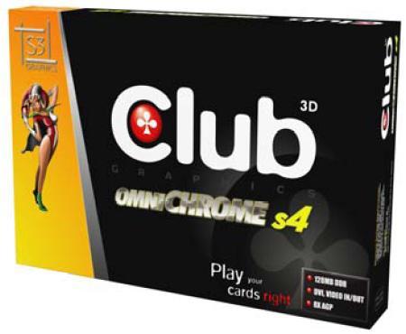 Club-3D OmniChrome S4 Box