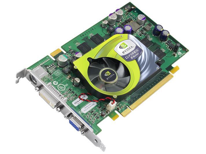 GeForce 6600 GT Grafikkarte (Referenzmodell)