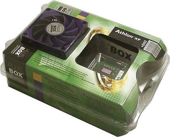 Plus Box mit modifiziertem Athlon XP
