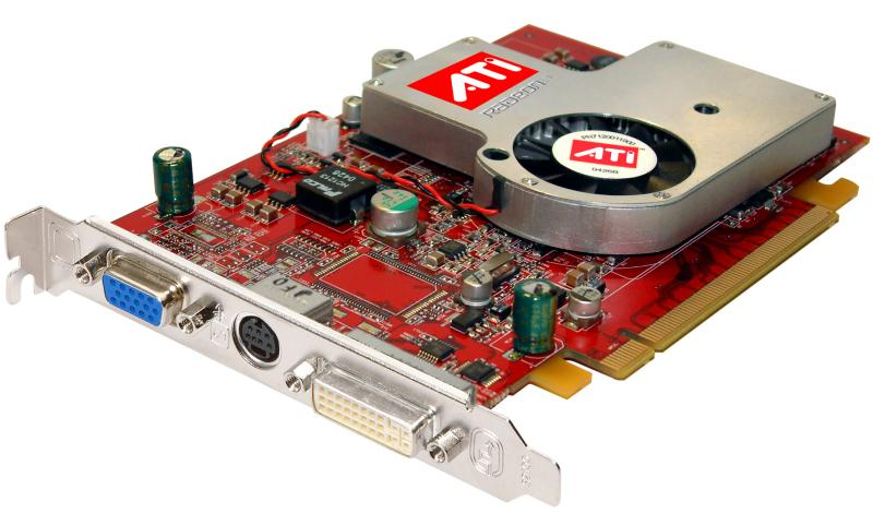 ATI Radeon X700 PCI Express Grafikkarte