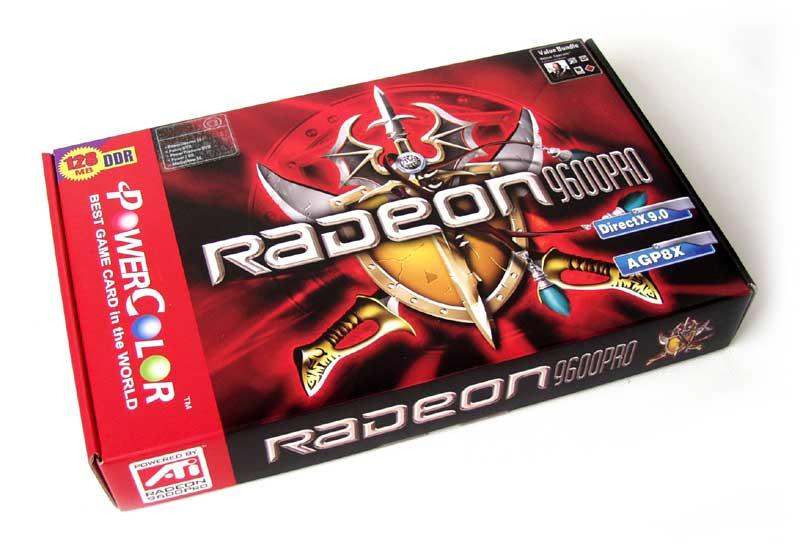 PowerColor Radeon 9600 Pro Box