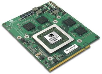 MXM Platine mit GeForce Go 6800