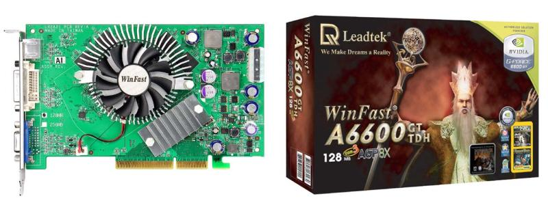 Leadtek WinFast A6600GT TD 128MB