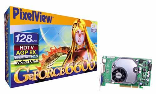 PixelView GeForce 6600 GT AGP