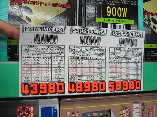 SNE FSRP Leistungsdaten