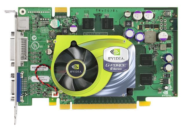 GeForce 6600 GT Grafikkarte (nVidia Referenzmodell)