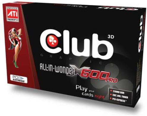 Club-3D All-In-Wonder X600 Pro Box
