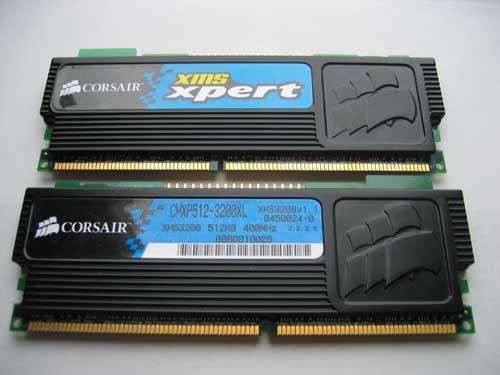 Corsair Expert Memory (Bild von PCPer.com)