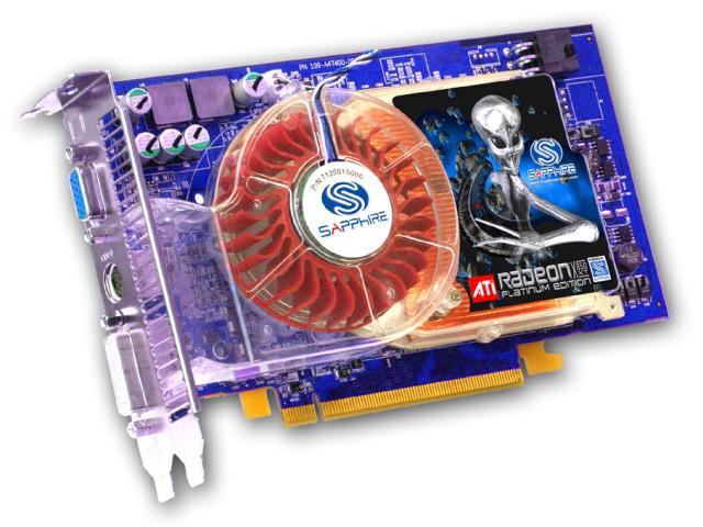 Sapphire Radeon X850 XT PE (PCI-E) mit blauer Platine