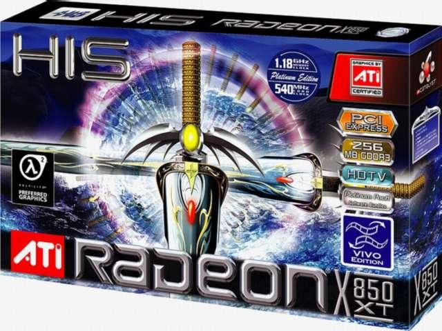 HIS Radeon X850XT PE