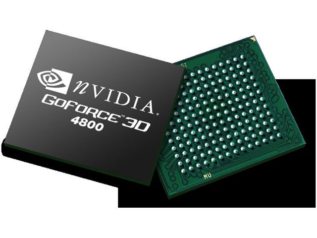 Der Nvidia GoForce 4800 Chip