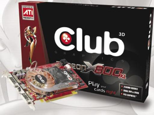 Club3D Radeon X800 XL