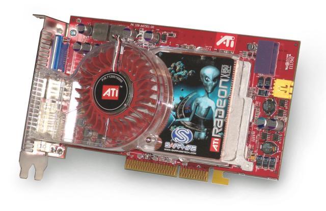 Sapphire Radeon X850 XT AGP