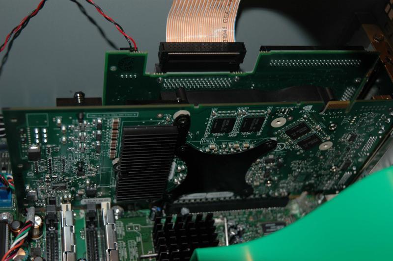 Rückseite der GF6800U 512MB
