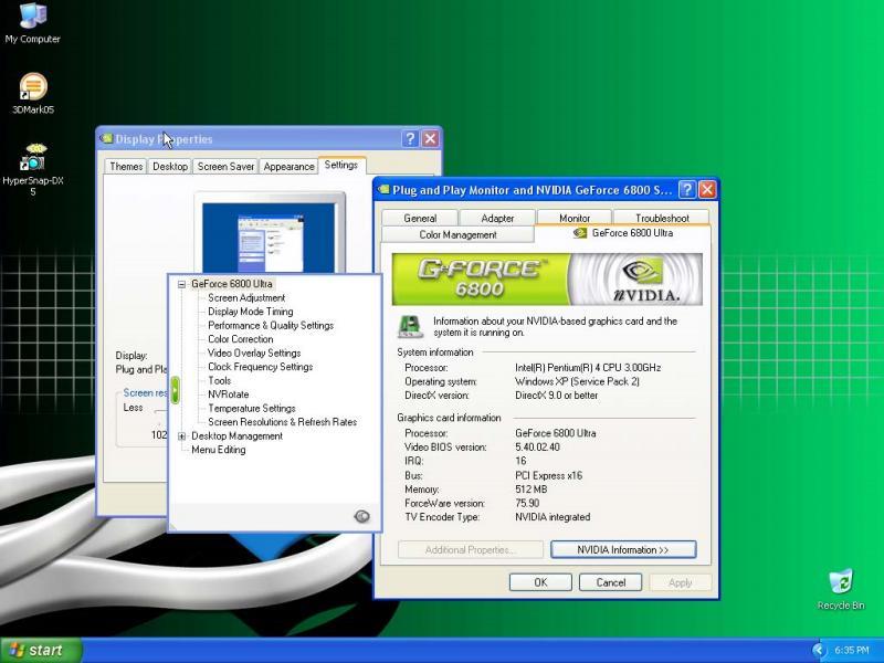 GF6800U 512MB Screenshot