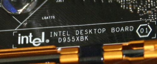 D955XBK Mainboard für Presler