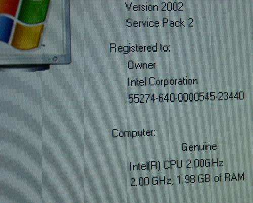 Presler Vorabsystem läuft mit 2 GHz