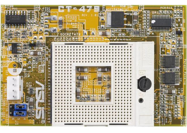 ASUS CT-479 Adapter für Pentium-M auf Sockel-478 Mainboards