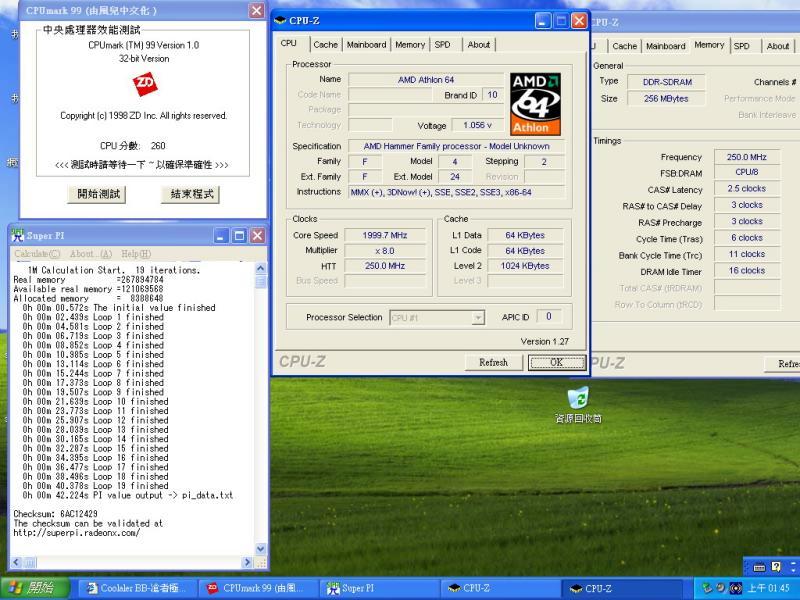 AMD Turion 64 2800+ übertaktet auf 2 GHz