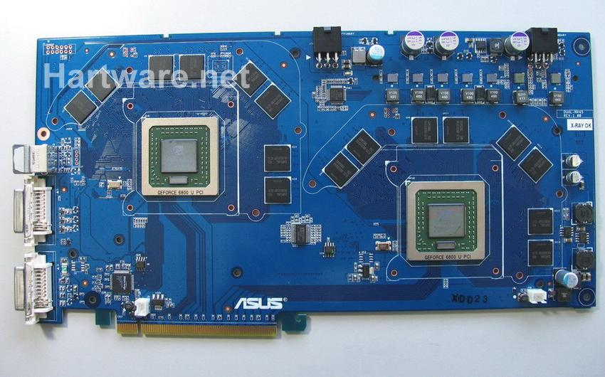 ASUS Dual-Chip GeForce 6800 Ultra Muster