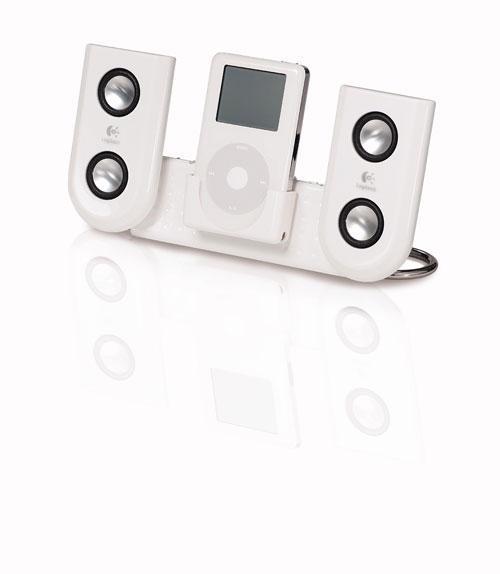 Der iPod wird zur Mini HiFi-Anlage