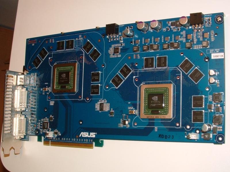 ASUS Dual-Chip GeForce 6800 Ultra mit insgesamt 512MB